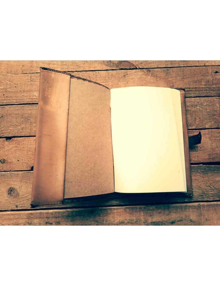 Tienda  Hieros Leather Funda de cuero para libros, agendas o cuadernos. Diseño Mariposa Funda de cuero para libros, agendas o cu