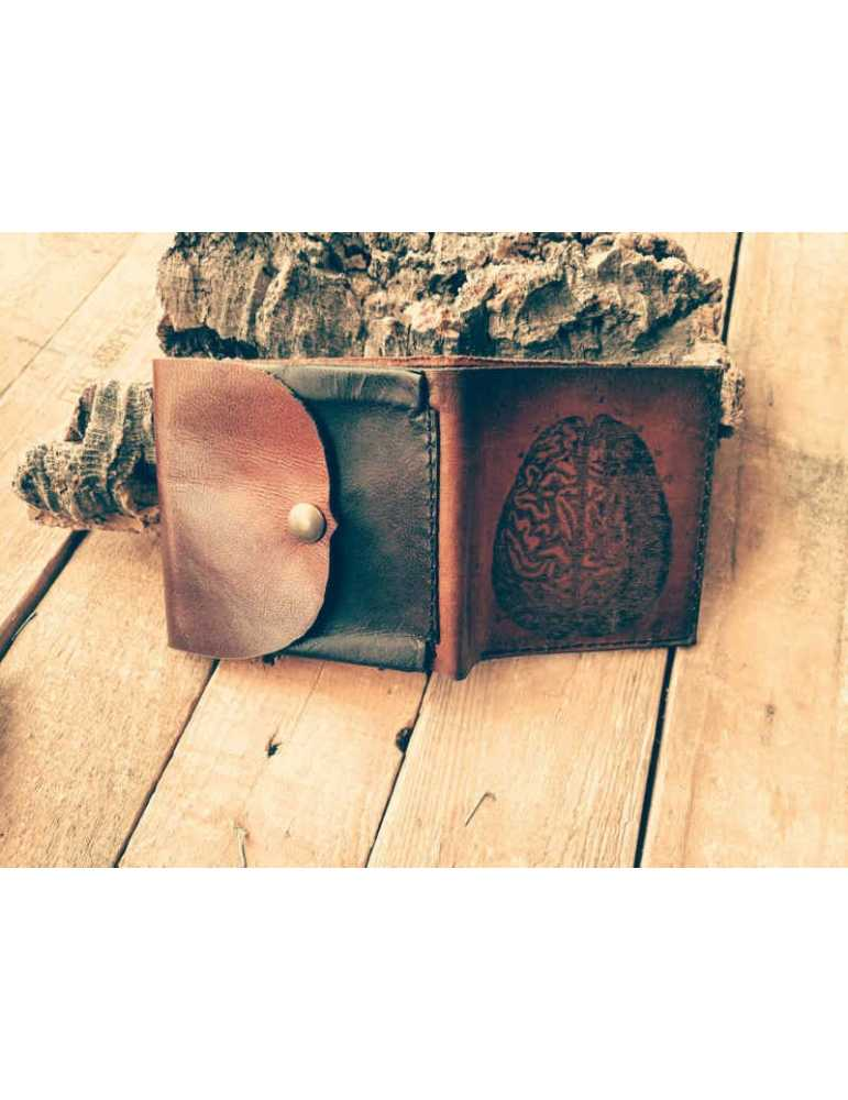 leather wallet coins