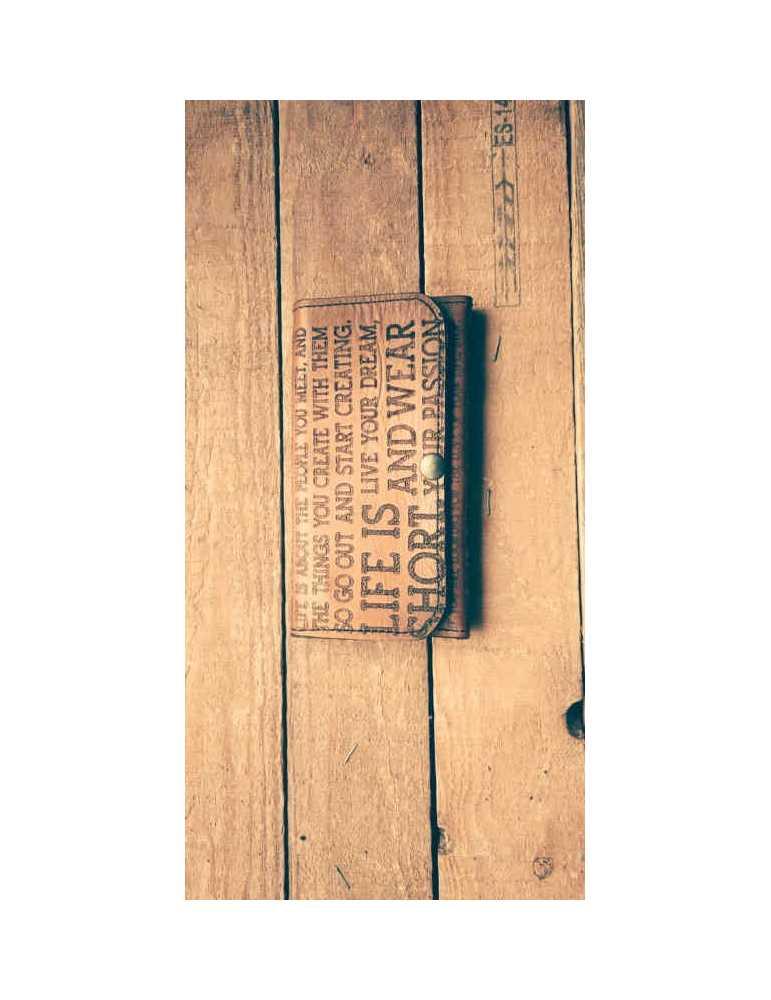 cartera de cuero diseño