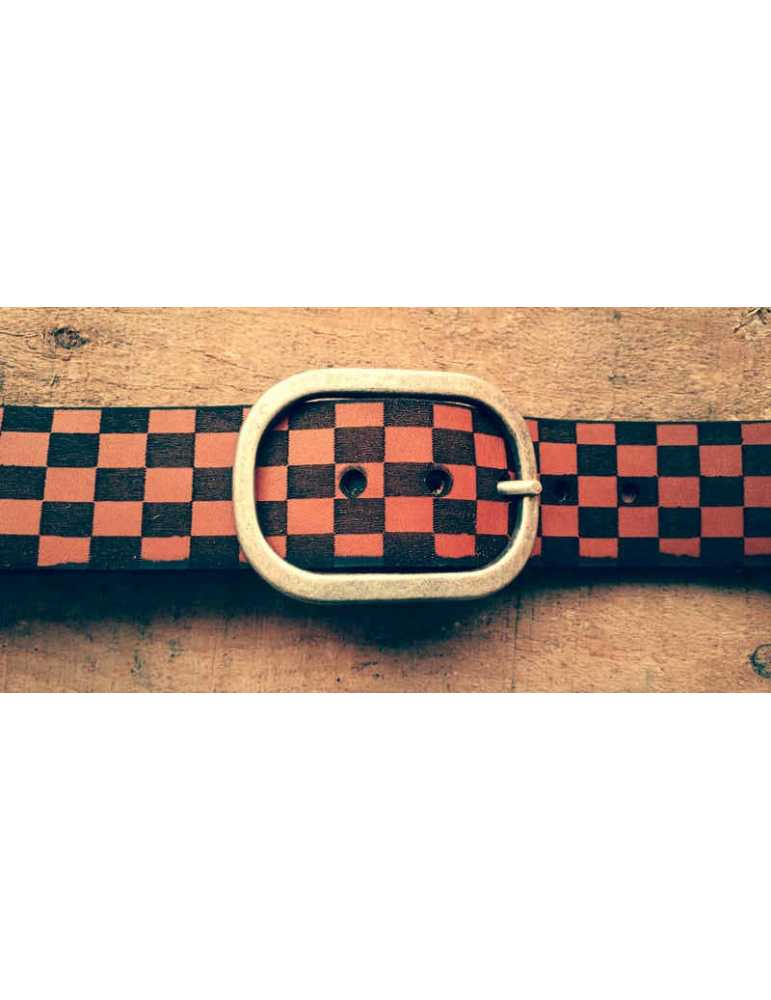 handrafted leather belt
