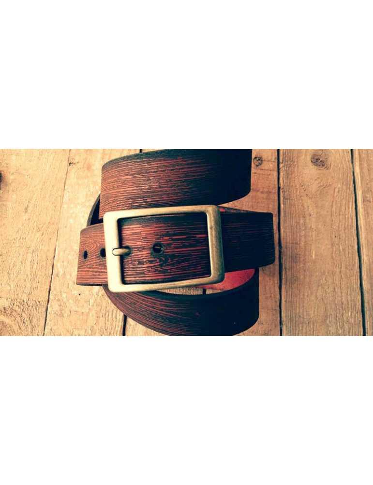 cinturon de cuero cuero