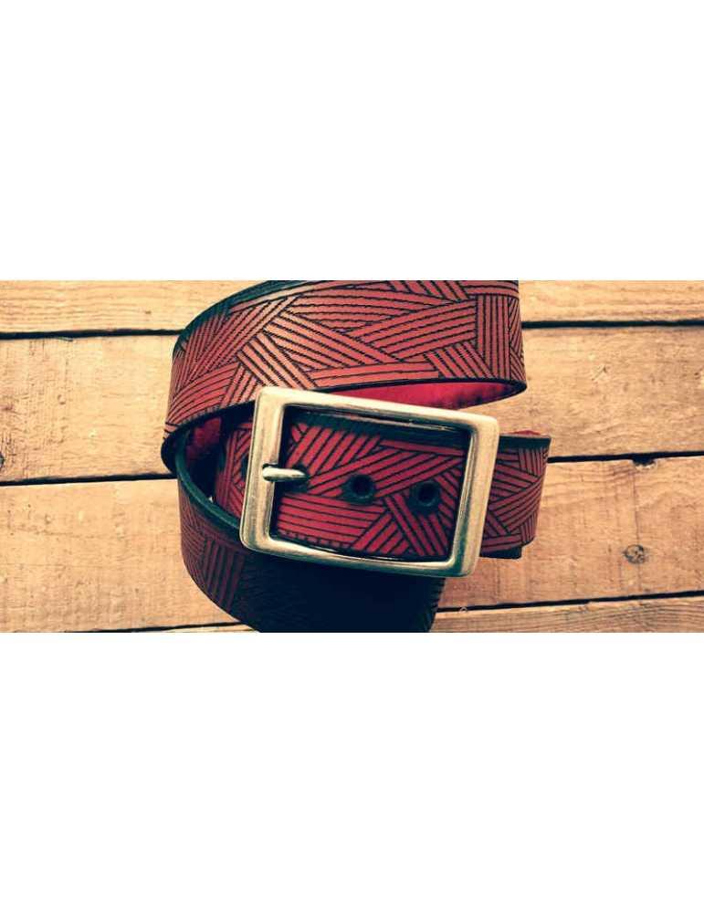 cinturon de cuero autentico