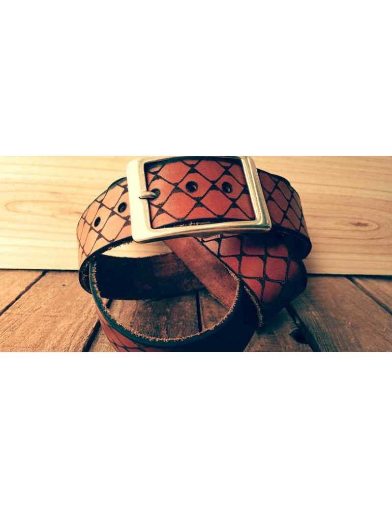 cinturón de cuero mujer