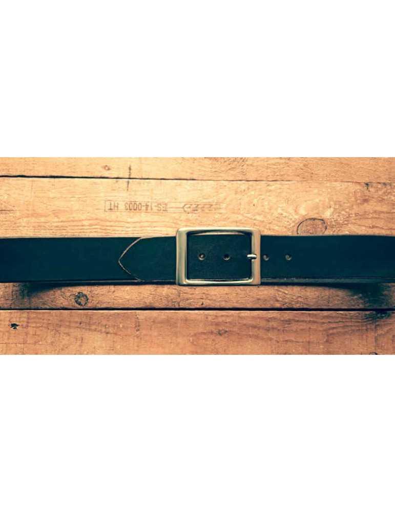 cinturon de cuero marron
