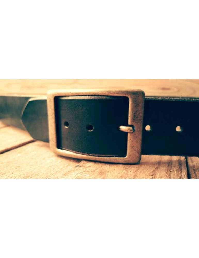 men brown leather belt