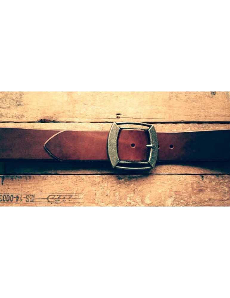 cinturon hecho a mano