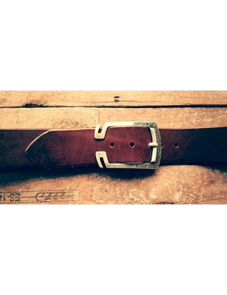 cinturón marron