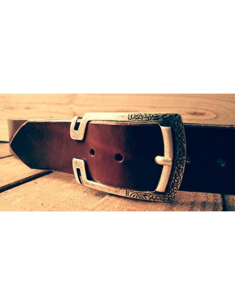 cinturon de cuero talla