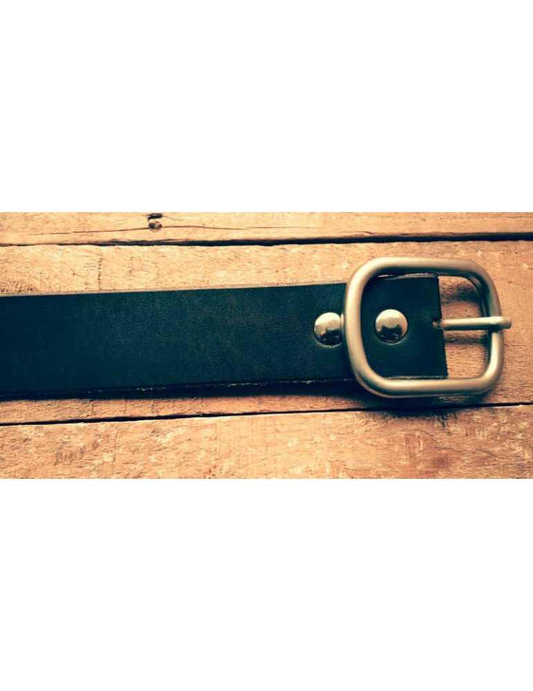 brown leather belt women