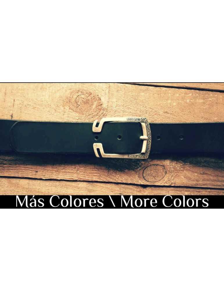 cinturon de cuero colores