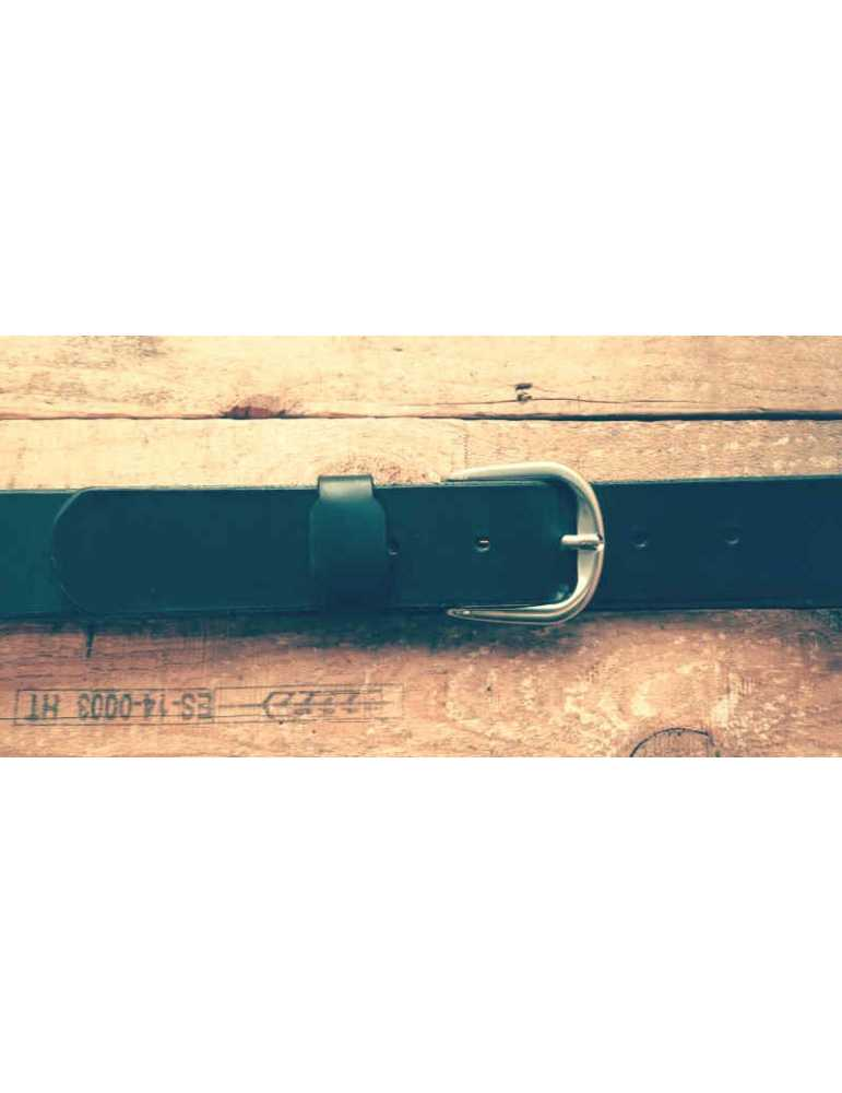 black leather belt for women
