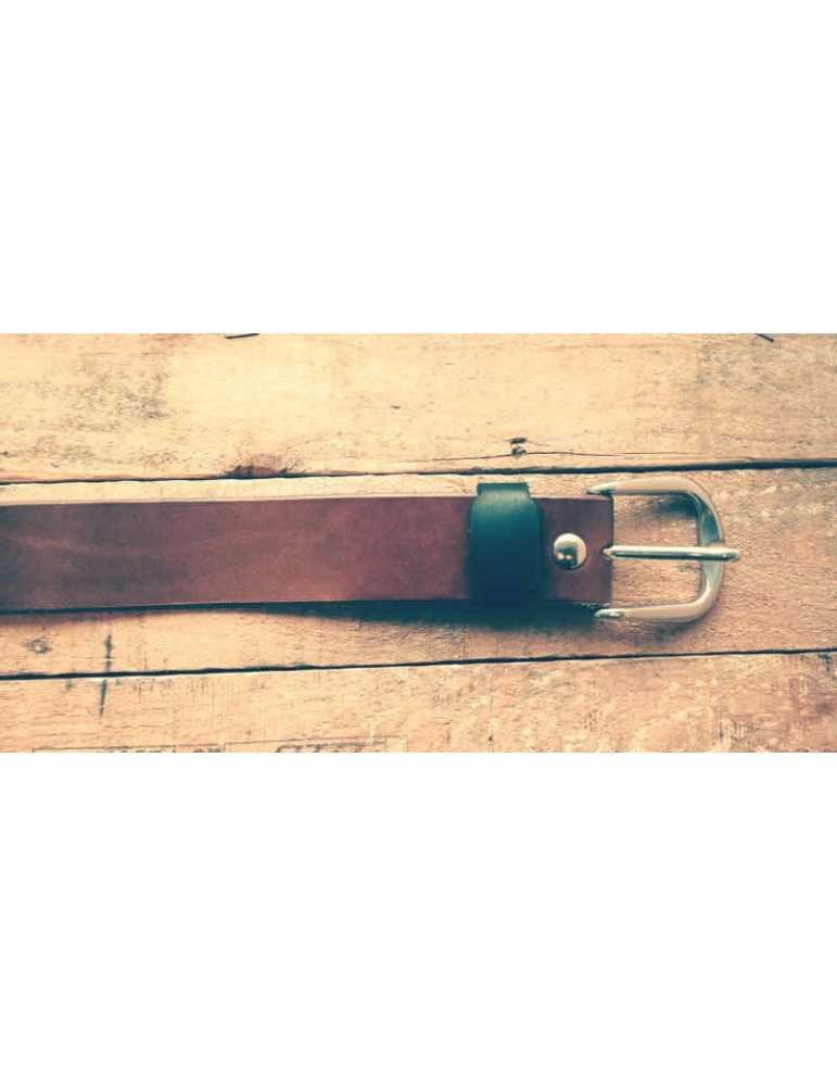 full grain belt