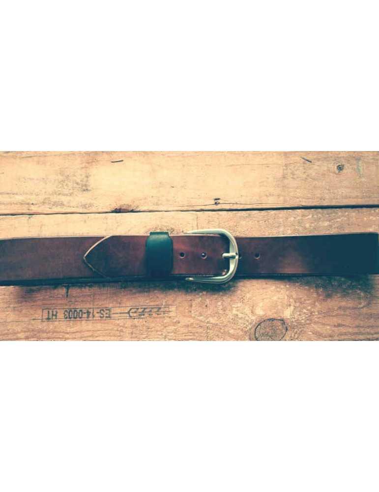 brown belt full grain