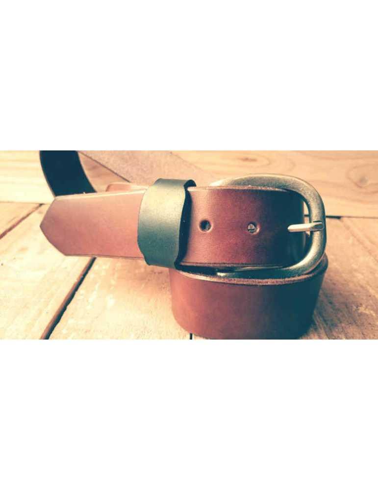 cinturon piel artesano