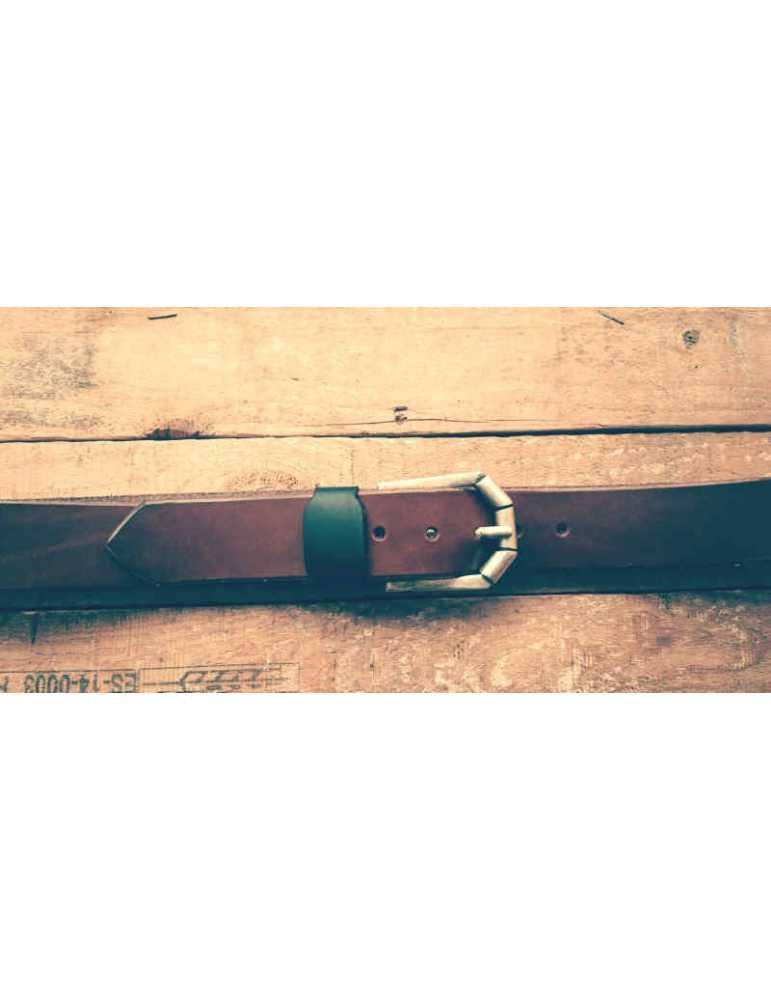 cinturon marrón