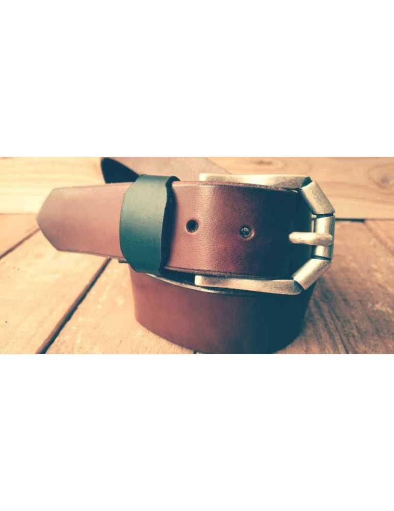 cinturon cuero artesano