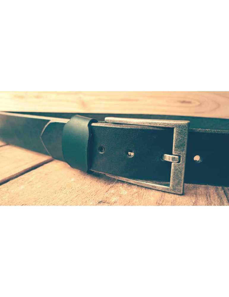 brown handcrafted belt
