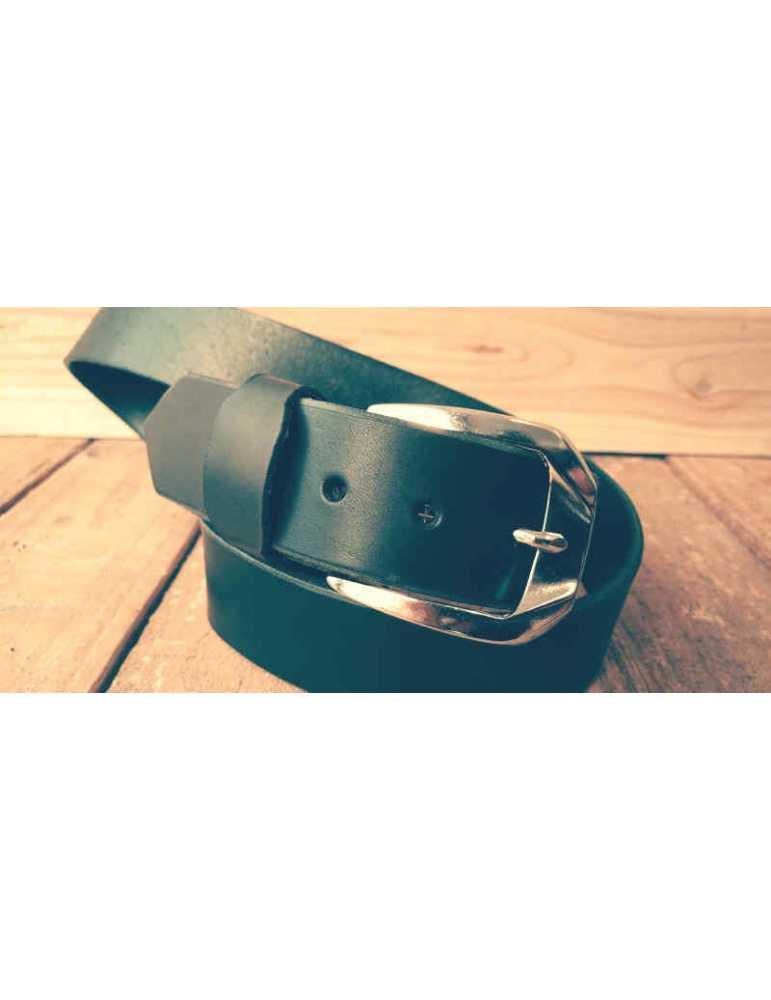 cinturon piel negro