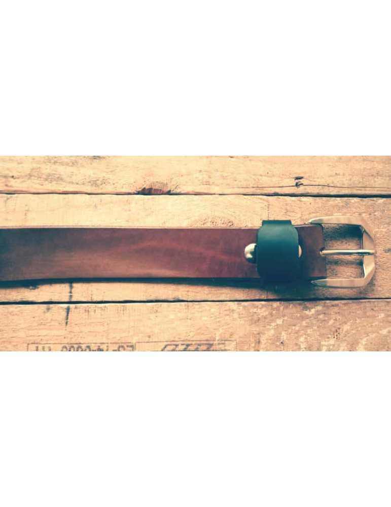 cinturon cuero color cuero