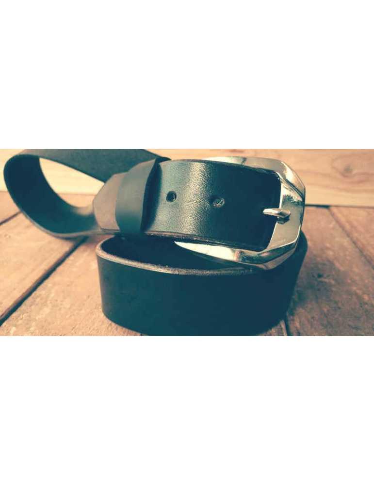 cinturon cuero hecho a mano