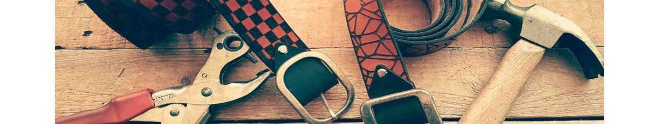 cinturones de cuero artesanales. Cinturones de cuero para mujer. Cinturón de cuero para hombre