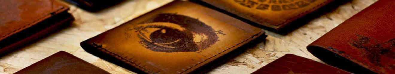 carteras de cuero artesanales
