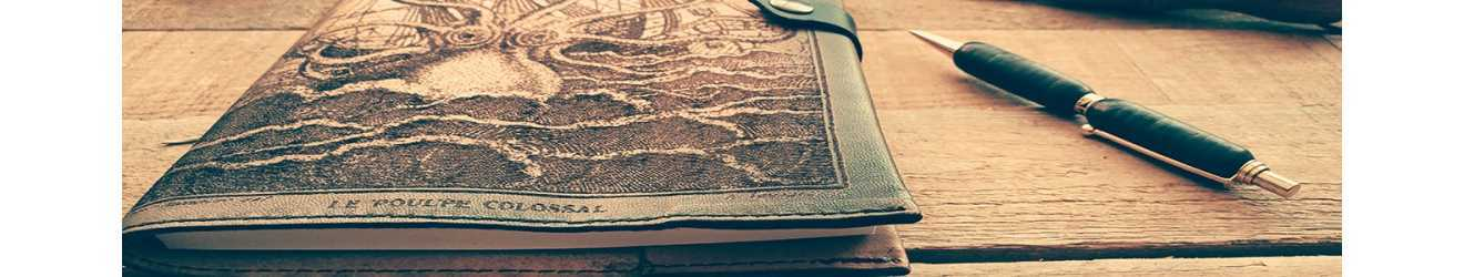 fundas de cuero para libros, cuadernos , agendas, álbum de fotos